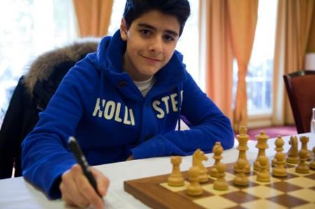 Aryan Tari (13). Foto: Bjørn Berg Johansen
