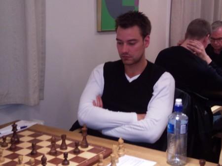Brede Alexander Kvisvik under Knut Bøckman Open 2011