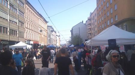 Bogstadveien markedsdager