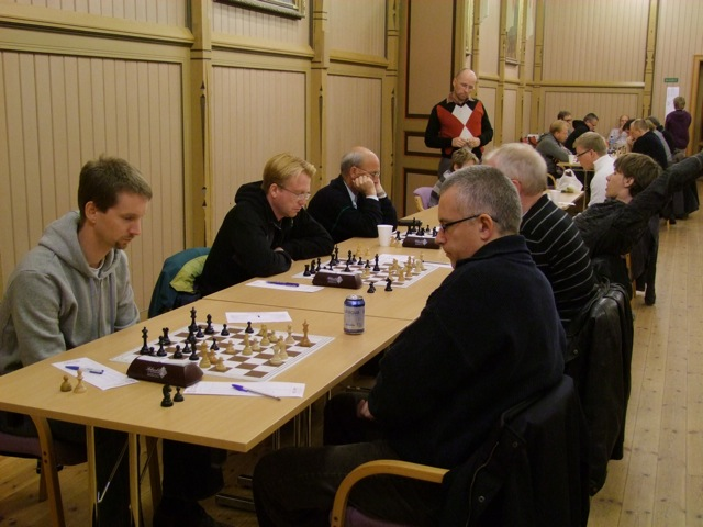 Tom Richard Evensen - GM Einar Gausel - Foto: H. Riiser