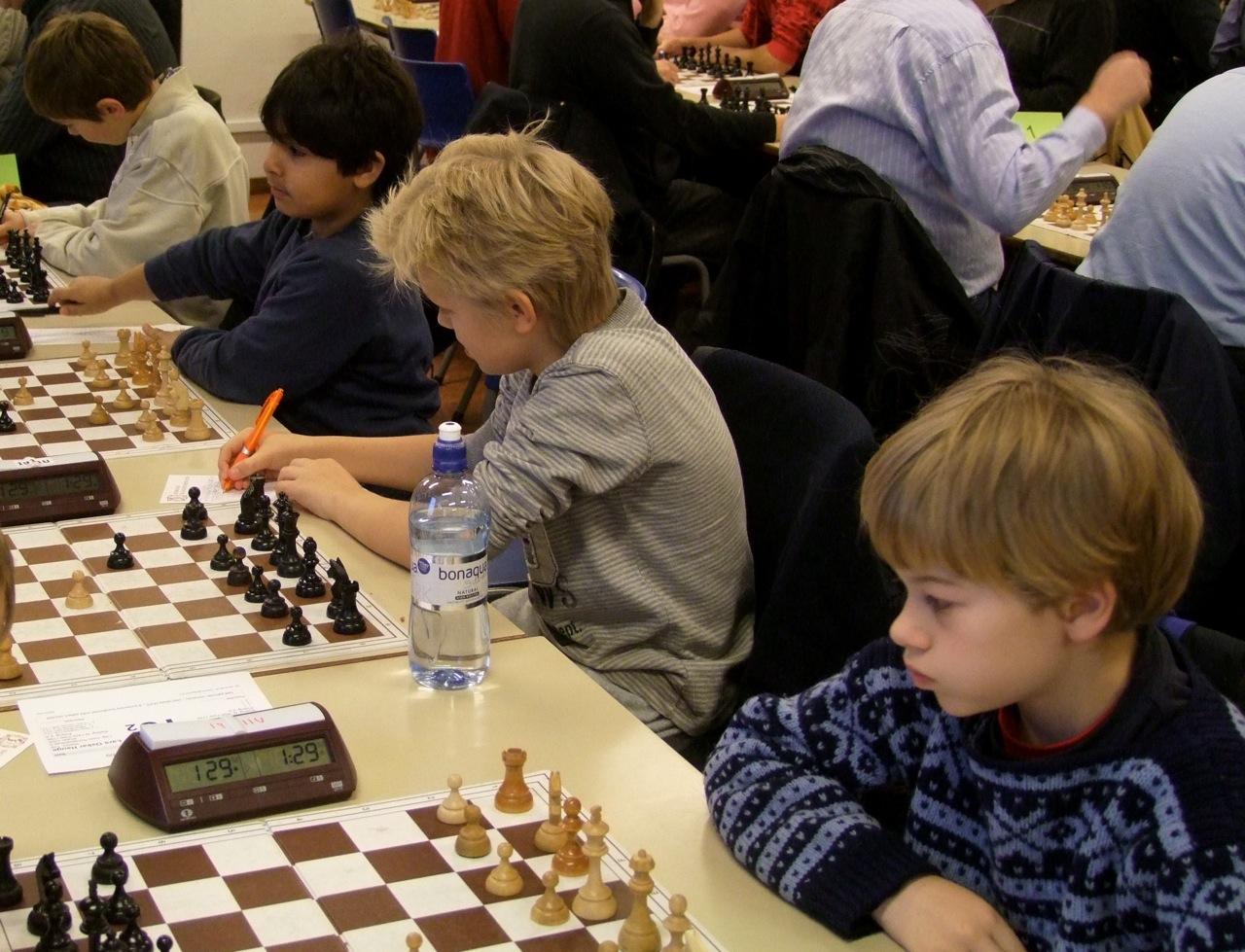 OSS 5: fra høyre: Sebastian, Lars Oskar, Armin og Samuel.