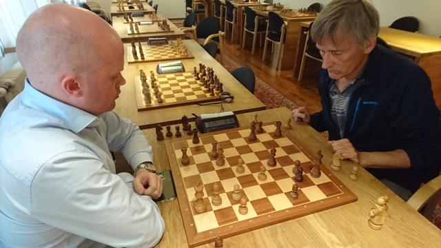 SEIG: Bertil Svendsen var seig og spilte alle partier, mens Aleks Semakoff koste seg i en Quads.