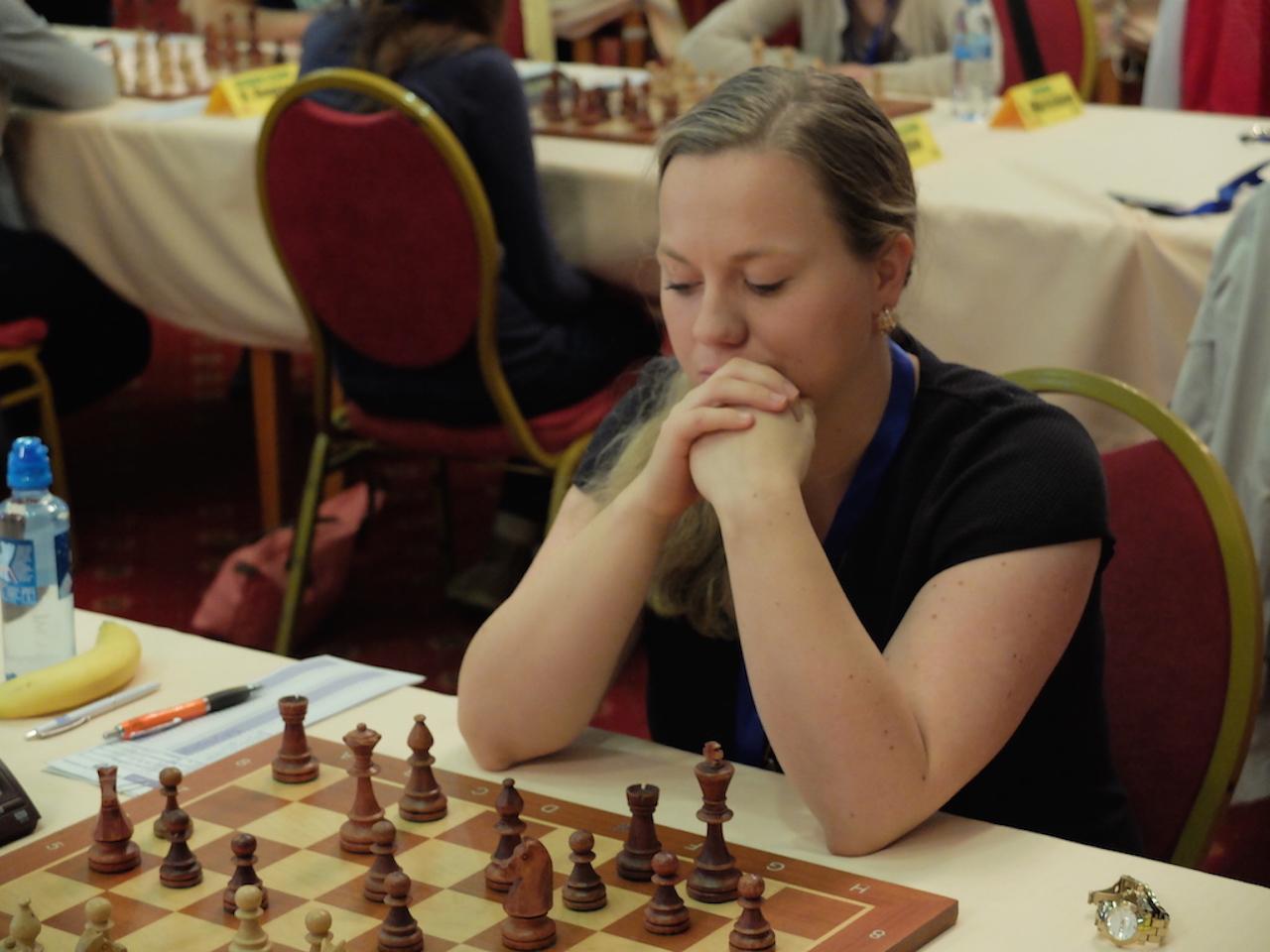 Lagkaptein Ellisiv var nærmest poeng i 1. runde
