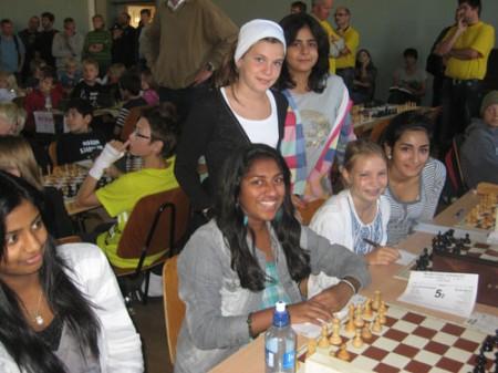 Kadettklassens eneste jentelag gjorde en hederlig turnering og endte på 11.plass.
