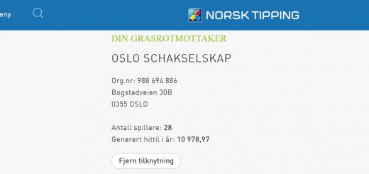 Takk til grasrotgivere i Norsk Tipping!