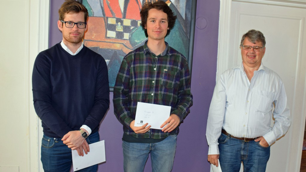 Fra venstre: Morten Rolstad, Mathias Nesheim og Torben Winther Jensen. Foto: Tarjei J. Svensen