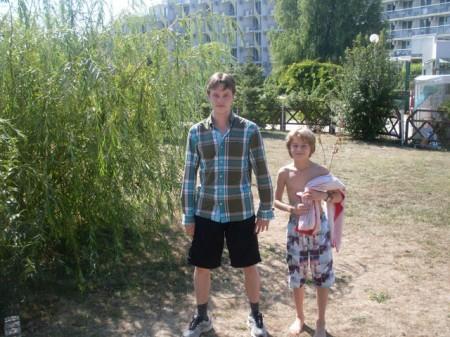 Frode Urkedal og Sebastian Mihajlov i EM for ungdom 2011.
