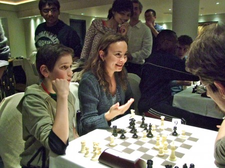 GM Antoaneta Stefanova og Samuel Riiser - the Bulgarian Dream Team