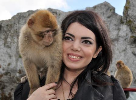 Yerazik Khachatourian i Gibraltar