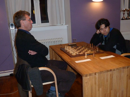 Simen Agdestein og Hikaru Nakamura