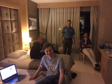 Martin, Emre og Jon Ludvig