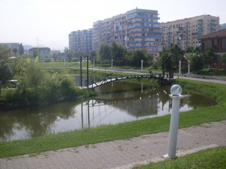 Været i feriebyen Batumi var det ingenting å utsette på