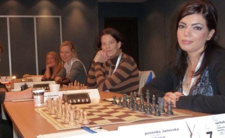 Våre håpefulle damer fikk en tøff start mot BAS Beograd
