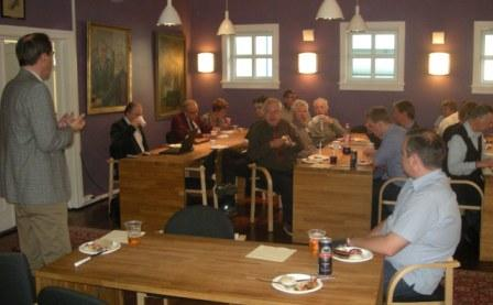 Medlemsmøte april 2009