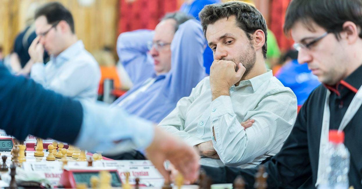 HVERDAG: For GM Levon Aronian er ECC 2016 en vanlig dag på kontoret i hva som for oss andre er en av verdens tøffeste sjakkturneringer.