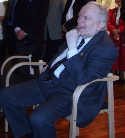 Knut Bøckman på sin 75-årsdag