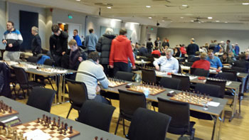 Flere hundre deltakere tilbragte helgen på First Ambassadeur Hotel i Drammen. Foto: Tarjei J. Svensen