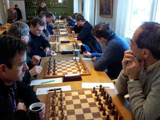 Fra 4.runde i Østlandsserien med OSS 2 mot Nordstrand 3.