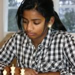 Raksha Rathan - sølvmedalje i kadettklassen i NM for jenter 2010 - Foto: Harald Hansen