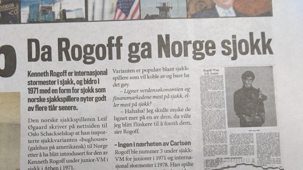Kenneth Rogoff spår om verdensøkonomien og snakker om norsk Sjokk