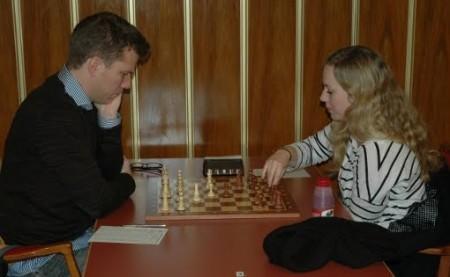 Tiger Hillarp Persson mot Ellisiv Reppen i Malmö Open 2010