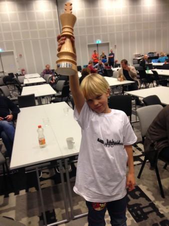 uNM 2014 Stolt vinner i yngste klasse