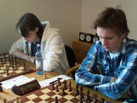 Toppbordene Frode Olav Urkedal og Nicolai Getz