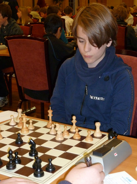 Vetle Henrik Hovslef tok 3 poeng og 37. plass i gruppe C.