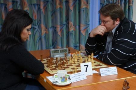 Yerazik hadde gode sjanser til gevinst mot FM Thomas Michalczak (2370) i 6.runde.