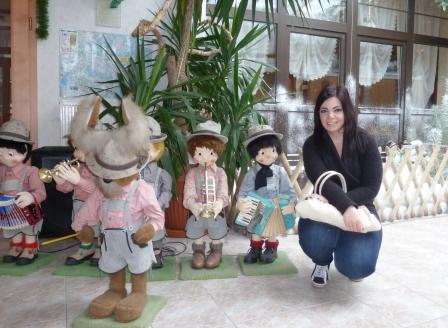 Yerazik var svært begeistret for disse dukkene
