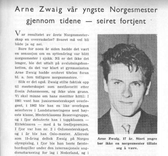 Arne Zwaig