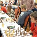 Vår unge lovende i OSS 7 gjorde en flott figur og 4.bordspiller Martin Bergsjø Østby fikk bestebordspremien. Foto: Tarjei J. Svensen